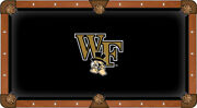Ncaa - Wake Forest Pool Table Cloth College Team Logo