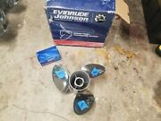 New Left Hand 14 3/4 X 17p Evinrude Viper Ss Prop, Tbx Hub Kit Included, 1996