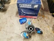 New Left Hand 14 3/4 X 17p Evinrude Viper Ss Prop, Tbx Hub Kit Included, 1997