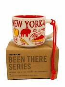 New York Starbucks Been There Collection Ceramic Ornament 011090502 New