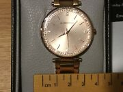 Globenfeld Starlight Rose Gold Womens Watch68 Crystals Newrrp Andpound199
