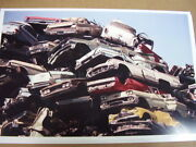 Junk Yard Scrap Yard 60and039s 50and039s Cars 11 X 17 Photo Picture