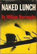 Naked Lunch-william Burroughs-1959-1st Ed-w/6.00 Dj-very Nice Collectible