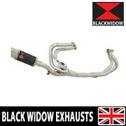 Vfr800 1997-2003 Rc46 Exhaust System Round Carbon Silencer 200cs