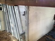 4 Reclaimed Combined Foam Insulation And Metal Building Panels And Studs