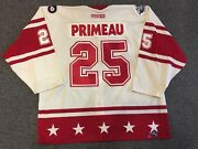 2003-04 All Star Game Keith Primeau Flyers Game Used Extra Jersey Meigray Jsa