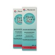 2 X Menicare Plus Gas Permeable Contact Lens Cleaning And Disinfecting 250ml