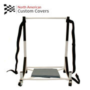 050 Ford Thunderbird Hardtop Stand Trolley Cart Rack And Hard Top Dust Cover