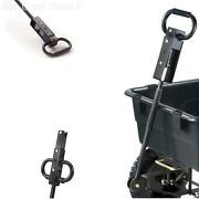 Utility Cart Handle Pulling Lawn Tractor Towing Wheelbarrows Wagon Part Garden