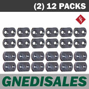 800 Series Stump Grinder Pockets Fits 3/4 Shank Teeth 12 C/s And 12 F/t