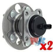 Pack Of 2 Rear Wheel Hub Bearing Assembly Replace 512418 Ha590366 Br930750