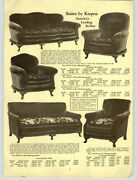 1931 Paper Ad 12 Pg Karpen Furniture Chair Couch Sofa Davenport