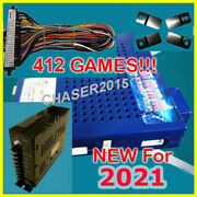 New 412 In 1 Game Elf Jamma Arcade Board Vga Vertical W Wire And Pwr Us Seller