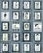 1960's Original Sports Art Negatives Used For Publishing Lot Of 49