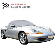 Rp145g Porsche Boxster 986 Convertible Soft Top Roof Half Cover - 1996 To 2004