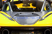Mclaren 720s Carbon Fiber Engine Cover And Rear Deck Lid Cover 2pc Kit Brand New