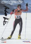 Andrea Huber Sui 3. Olympics 2002 / Nsk - Sign. Ak