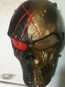 Custom One Of A Kind Army Of Two Mask. The Hyde
