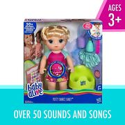 Brand New Baby Alive Potty Dance Baby Talking Baby Doll With Blonde Hair