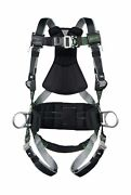 Miller Revolution Full Body Safety Harness With Quick Connectors Side D-rings And