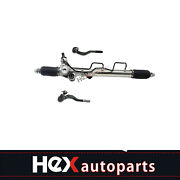 Complete Power Steering Rack And Pinion + Outer Tie Rods For Toyota Tacoma 4wd