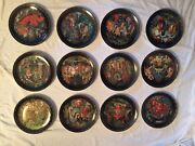 Russian Legends Plates Complete Set Of 12, Collector's Condition