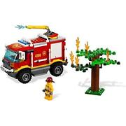 Lego City Forest Fire Truck 4wd 4208 Japan Import