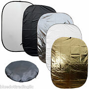 5-in-1 60x79 Collapsible Multi Lighting Reflector Kit Photo Photography Freesh