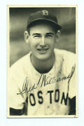 1939 Ted Williams Vintage Autographed George Burke Rookie Year Photo - Red Sox