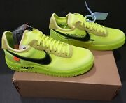 Off-white X Nike Air Force 1 Low Volt 43eu 9.5us Neuf