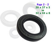 Engine Oil Seal Kick Starter Gear Shift Cluch Drive Cam Shaft Motorcycle Page2-2