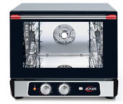 Axis Ax-514rh Convection Oven Countertop 1/2 Size Manual Controls