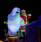 25and039 Foot Inflatable Bumble The Abominable Snowman Rudolph Christmas Custom Made