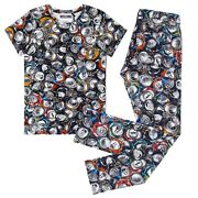 Nwt Moschino Couture Menand039s Multicolor Crushed Soda Can Print Pants Shirt Set