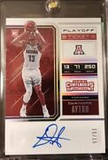2018 Panini Contenders 51b Deandre Ayton Playoff Ticket Variation Andrsquod 15/15