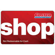 Costco Shop Cash Card 200 To 1000 Ship Free Never Expire Enter W/o Membrshp