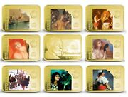 Armenia 100 Dram 2010 Teodor Axentowicz Painting Set Of 9 Silver Coins