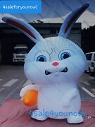 30and039 Foot Snowball Easter Rabbit Inflatable ..the Secret Life Of Pets Rareandnbspandnbsp