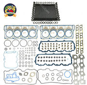 New Cylinder Head Stud Kitandhead Gasket Set 18mm For 03-06 Ford 6.0l Powerstroke