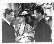 Richard Crane, Frances Dee And Don Ameche In A Scene From The 1943 Movie Still