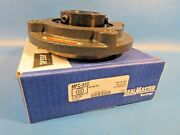 Sealmaster Mfc-31c Gold Line, Piloted Flange-mount Ball Bearing, 1-15/16 Bore