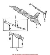 For Bmw Genuine Rack And Pinion Assembly 32136755065