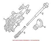 For Bmw Genuine Steering Column Front 32306788155