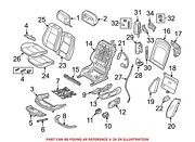 For Bmw Genuine Seat Cover Front Right 52107253531