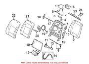 For Bmw Genuine Seat Lumbar Support Cushion Front Left 52107313641