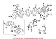 For Bmw Genuine Seat Cover Front 52107308281