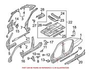 For Bmw Genuine Roof Side Rail Right Outer 41217111324
