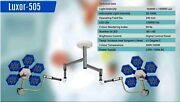 Led Surgical Light Ceiling Mobile Wall Mounted No Of Led 60 + 60