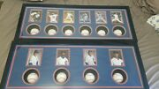 Calling All Cubs Fans Ws Pitching And Coaching Framed Signed Baseballs