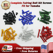 Complete Fairing Fasteners Windscreen Bolt Kit Screw Fit For Yamaha Yzfr1 R6 R6s